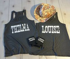 Thelma and Louise Tank Top Set