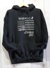 Sweatshirt Jeep USA Swetshirt Rhinestones