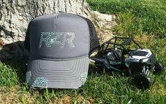 RZR Rhinestone Vintage Trucker Hat