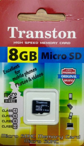 4347faf51 Combo Offer! Transton 16GB + 8GB Micro SD Memory Cards 1yr Replacement  Warranty