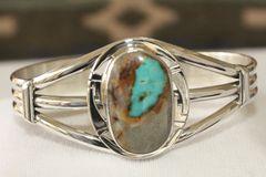 Boulder Turquoise Bracelet - BL9922 - SOLD