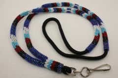 Navajo Full Beaded Lanyard - L2803 - SOLD