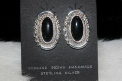 Black Onyx Earrings - ER122