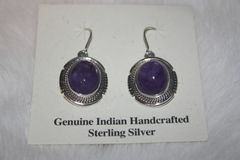 Charoite Earrings - CH33