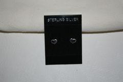 Wampum Mini Heart Earrings - ER303