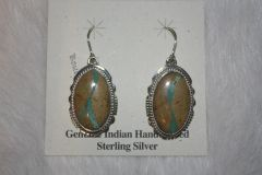 Boulder Turquoise Earrings - BL50 - SOLD