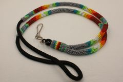 Navajo Full Beaded Lanyard - L2934