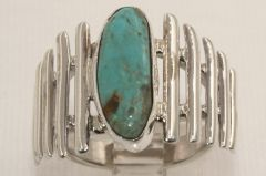 Crow Springs Mine Turquoise Ring - R2402 - SOLD
