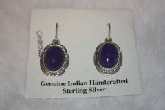 Charoite Earrings - CH34