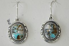 Boulder Turquoise Earrings - BL311