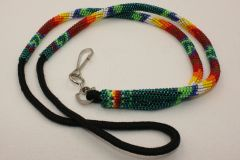 Navajo Full Beaded Lanyard - L2935 - SOLD