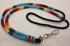 Navajo Full Beaded Lanyard - L2801 - SOLD