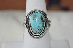 Easter Blue Turquoise Ring - R2405 - SOLD