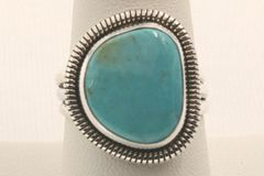 Crow Springs Mine Turquoise Ring - R2881