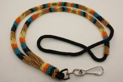 Navajo Full Beaded Lanyard - L2802 - SOLD
