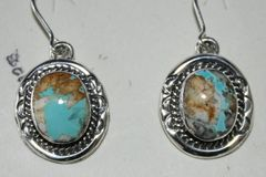 Boulder Turquoise Earrings - BL3130