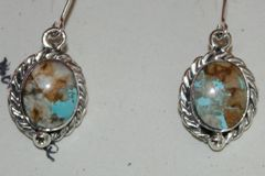 Boulder Turquoise Earrings - BL3240