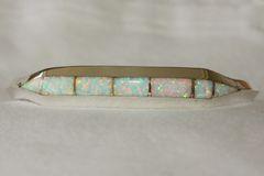 Zuni Opal Inlay Bracelet - BR3881