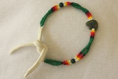 Navajo Made Kids Beaded Bracelet - BR482