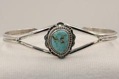 Number 8 Mine Turquoise Bracelet - N84201 - SOLD