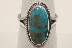 Boulder Turquoise Ring - BL3120 - SOLD