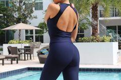 Open Back Jumpsuit (one piece)