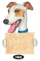 "Greyhound Print - 8.5"" x 11"""