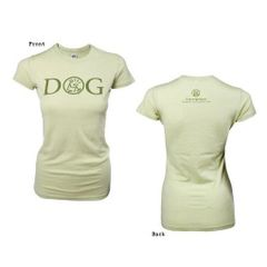 Dog is Good Ladie's T-shirt DOG