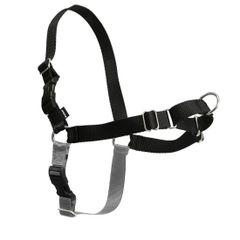Easy Walk Harness in Black/Silver