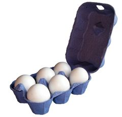 Eton 3 X 6 Egg Boxes Blue