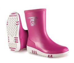 Dunlop Mini Child Wellington Boots in Pink Size 8