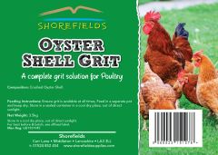 Shorefields Poultry Oystershell Grit 3.5kg