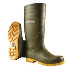 Dunlop Universal Wellington Boots in Green Size UK8