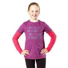Harry Hall Junior T-Shirt in Purple