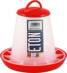 ETON TSF Range, RED/WHITE Feeders with clip on lids. 1kg