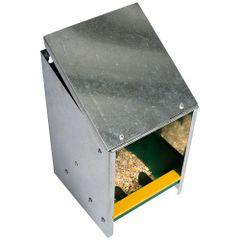Eton Automatic Feeder Zinc Plated 2.5KG With Slanting Lid