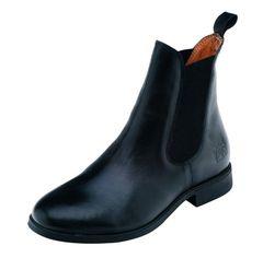 Harry Hall Jodhpur Boots Silvio Junior Black Size 12
