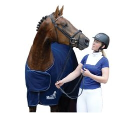 Masta Show Rug Hickstead Dark Navy 6'3""