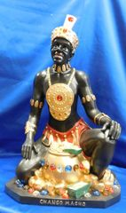 Chango Macho statue 21 inch