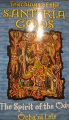 Teaching Of The Santeria Gods Book