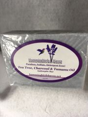 Tea Tree, Charcoal & Tamanu Oil Antiseptic Bar