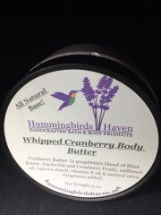 Whipped Cranberry Body Butter