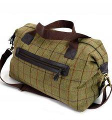 Tweed Weekend Bag