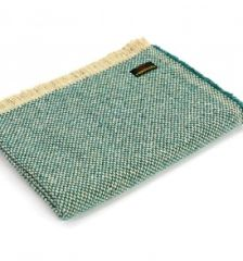 Recycled Wool Crosshatch Throw