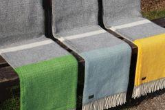 Wool Throws - Illusion Panel