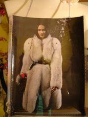 Furs & Coats Fashion Magazine Purse