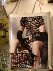 Ultimate Luxury Accessroy Fashion Magazine Purse