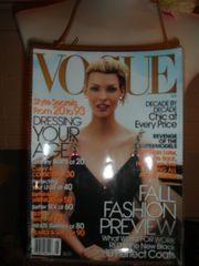 Vougue Fall Fashion Preview Magazine Purse