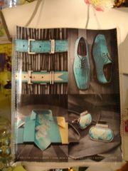 Stacy Adams Men Fashion Magazine Purse/Bag