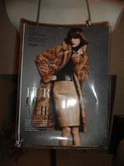 Saga Furs Fashion Magazine Purse